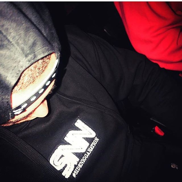 S/o to @richyrich8a for rocking the new merch! Get yours today. Contact @skrapp_snn for Inquiries #SNN