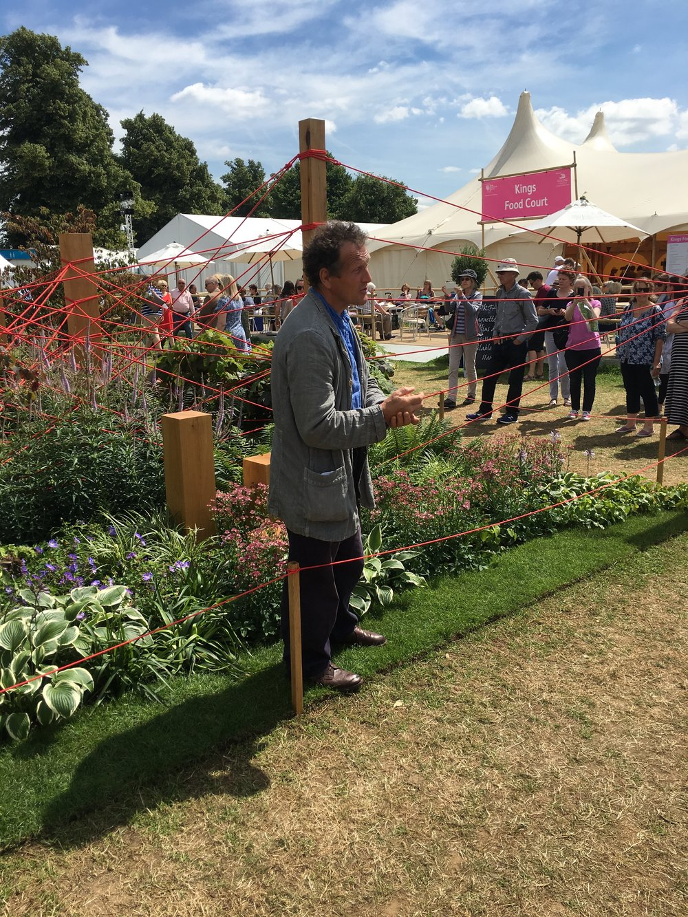 Monty Don - BBC RHS Hampton Court Palace Flower Show