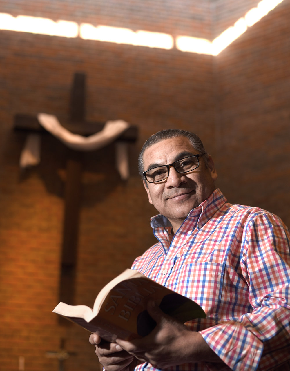 Pastor Juan Mayorga, of Delavan, leads church services for the Hispanic Ministry at the Monroe United Methodist. Pastor Mayorga has been a part of the Hispanic Ministry in Monroe since July 2017.
