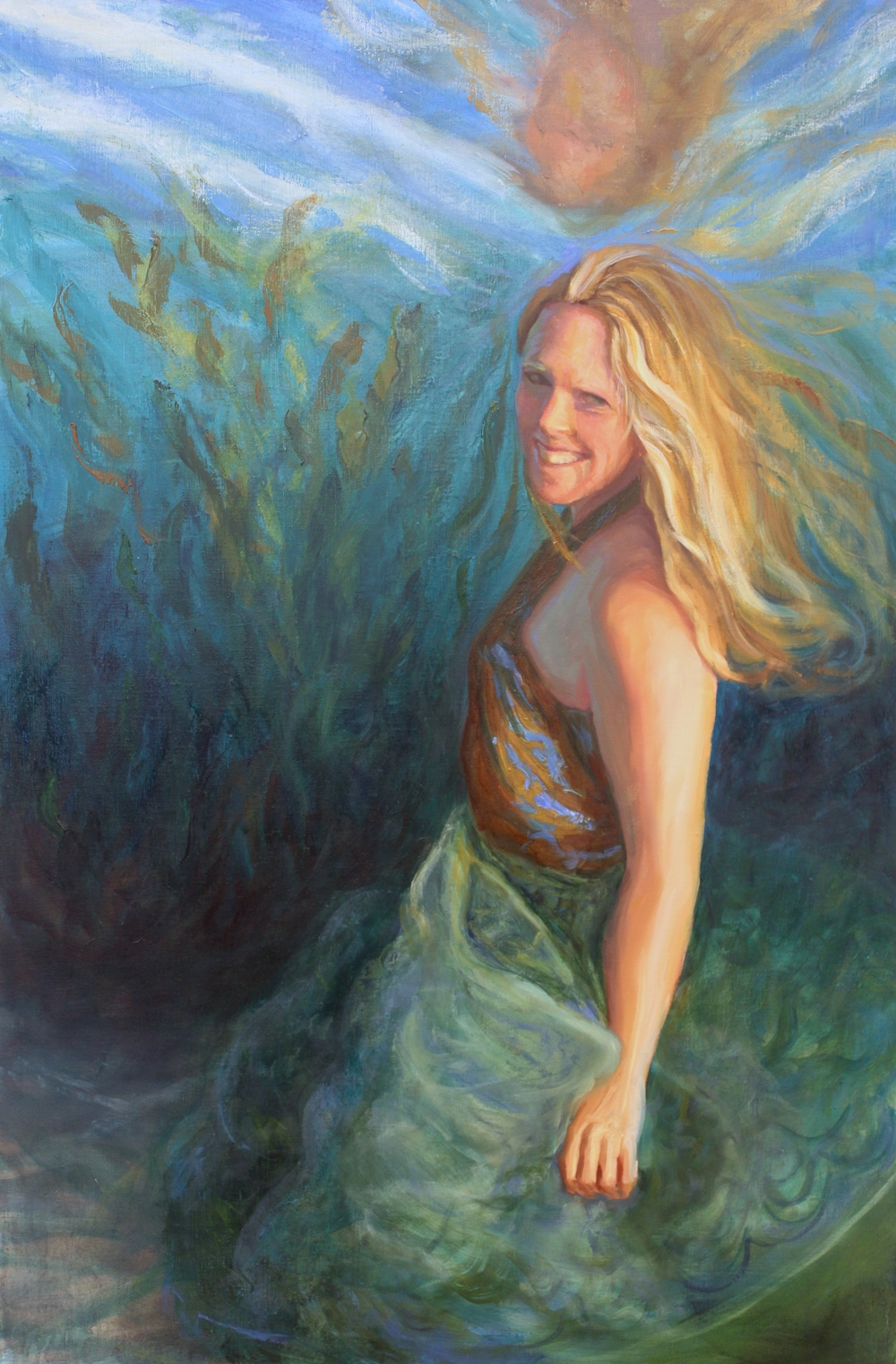 Stephanie Mutz, oil on linen, 24x36