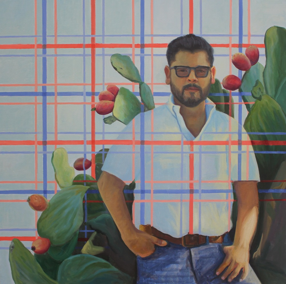 Luis Ramirez, oil on canvas By Holli Harmon