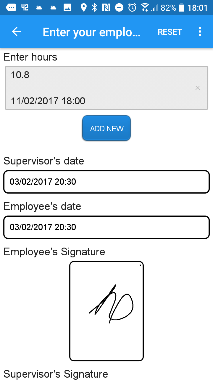 Farm Worker Timesheet APP