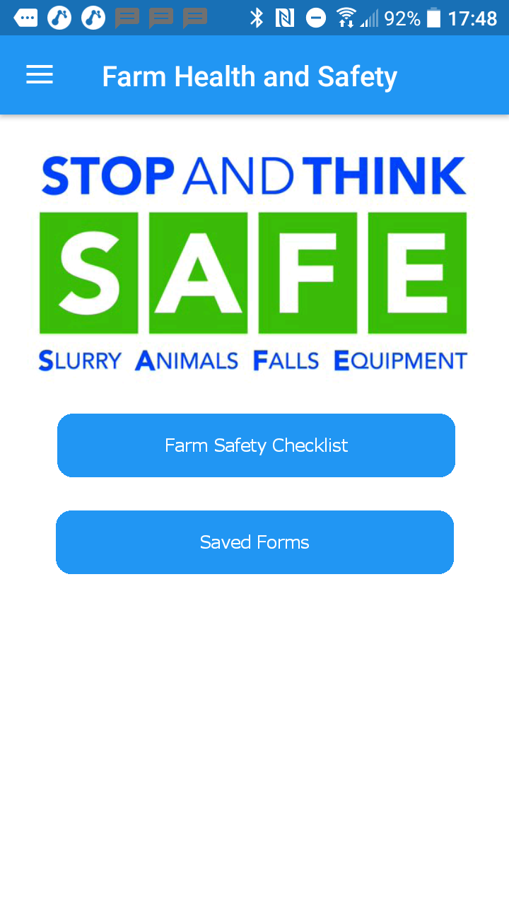 Farm Safety Mobile APP