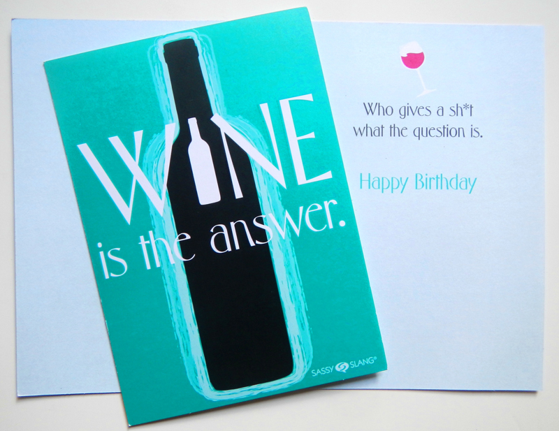 Wine is the Answer Card - Icebreakerz
