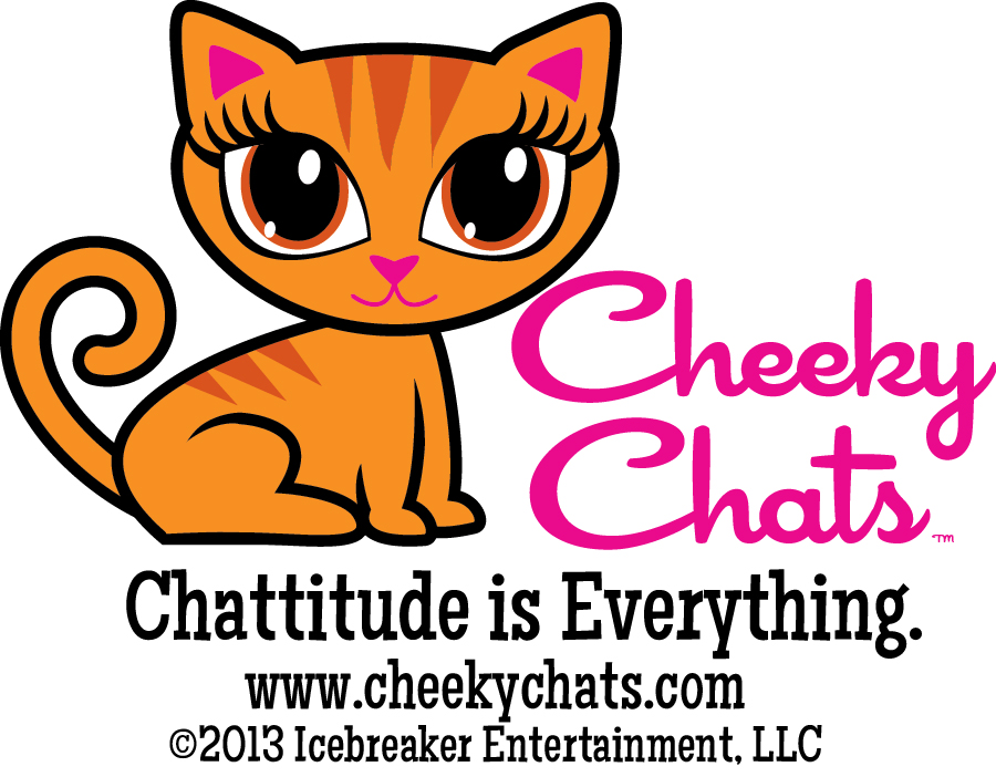 Introducing the  Cheeky Chats  the fun kitty cat brand from  Icebreaker Entertainment
