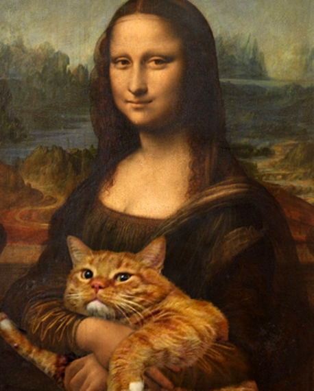 We did a special forensic analysis of the  Mona Lisa  and look what we discovered!