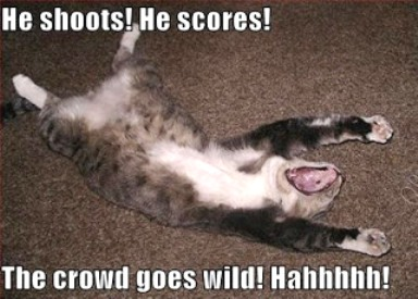 USA hockey team beats Russia in Sochi!