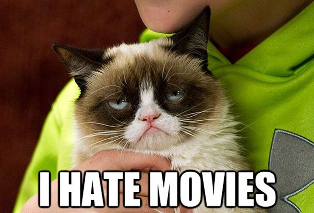 Grumpy Cat weighs in on the Oscars.