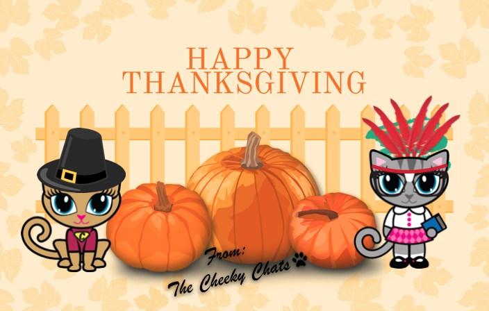 Wishing everyone a very Happy Thanksgiving!