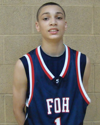"Pictured here is Zach Lavine in his ""Friends of Hoop Seattle"" AAU uniform"