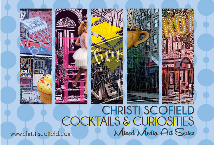 New York City Mixed Media Art Series by Christi Scofield