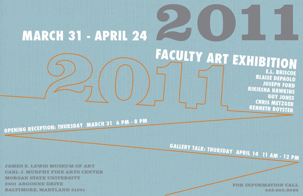 2011 Faculty Exhibition