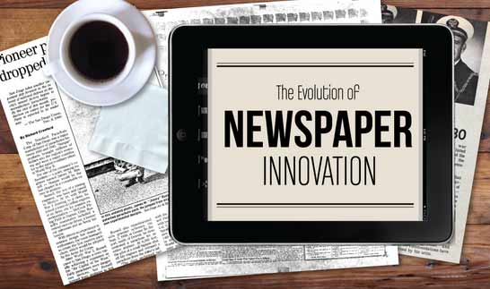 The Newspaper Association of America released new data about newspaper innovation in the form of an infographic, as cited by Newspaper Death Watch. Among the findings - online newspaper content reached more than 145 unique visitors in January alone. See the full data from the NAA. (Photo source: NAA)