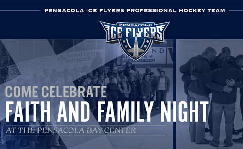 Ice Flyers Faith & Family Night - FEBRUARY 18 | 3:15 PM - 8:00 PMWe'll meet at the church at and travel together to the Bay Center for the puck drop at 4:05PM.We'll go to Whataburger after the game and be back at the church by 8PM. This event is open to all youth and their families! Last day to register is the Sunday before, Feb 11. Cost $15.REGISTER FOR ICE FLYERS