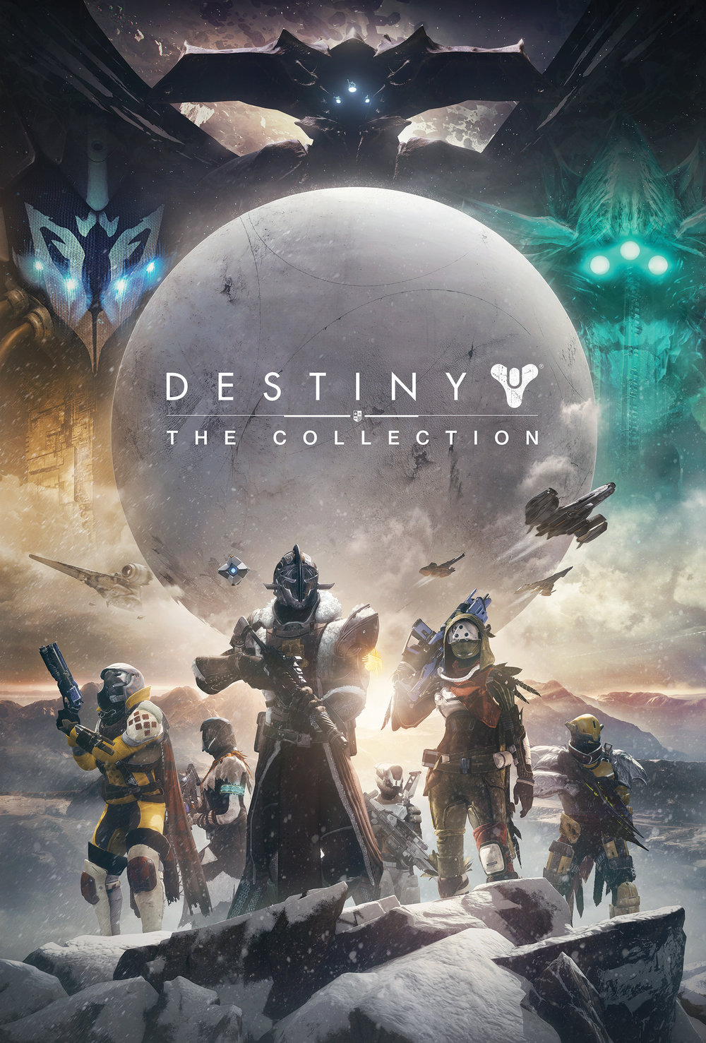 Got the opportunity to create a poster for the Destiny Collection. The poster was created utilizing in-game content and preexisting Destiny Key Art. I had a lot of fun working on this one!