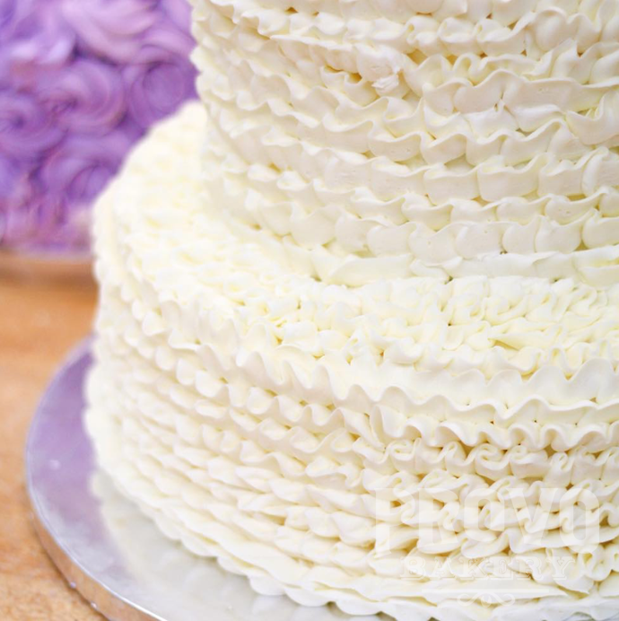 Ruffled Frosting Style