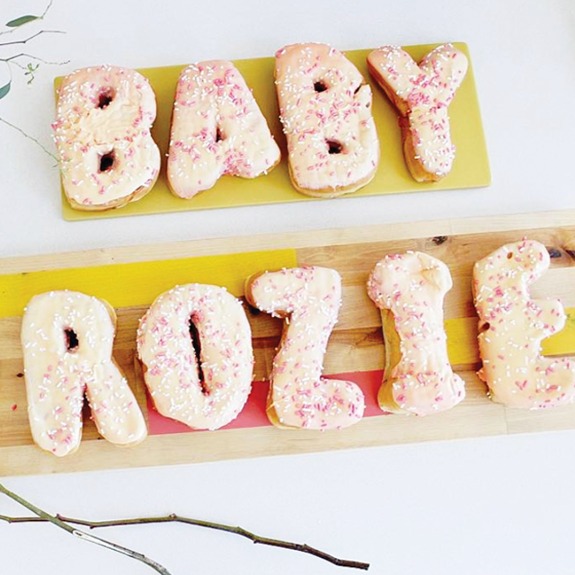 Baby Shower Donuts. Photo by: AFPDesigns Product Used: Letter Donuts