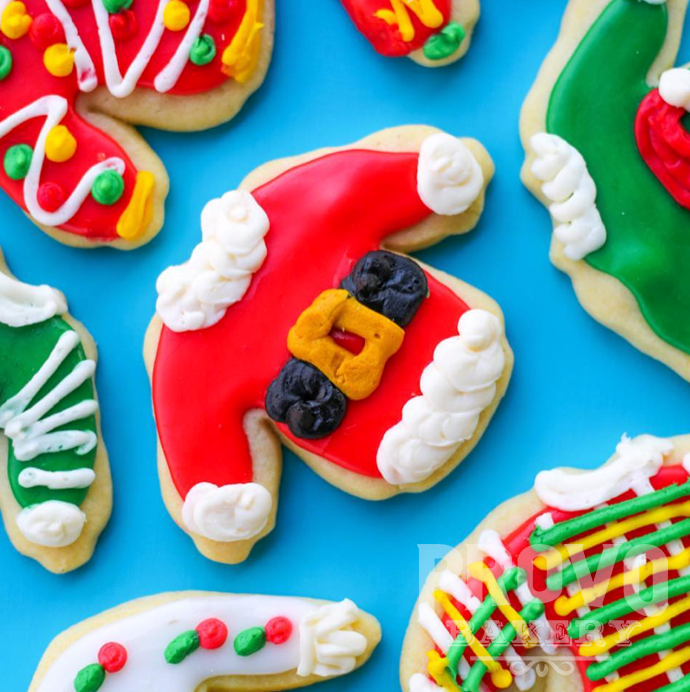Ugly Sweater Christmas Sugar Cookies