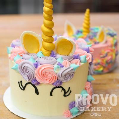 Donut Birthday Cake Provo Bakery