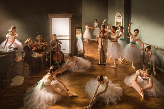 An image I've dreamed of shooting for a year now and a degas tribute through photography
