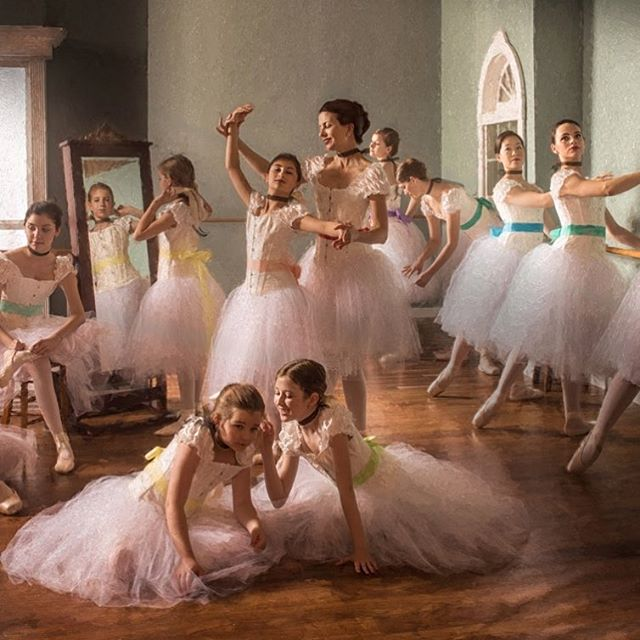 Part of a year-long dream to photograph a tribute piece to #Degas