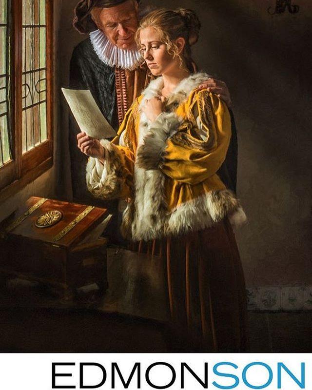 Vermeer tribute piece - see the full image on our website http://www.edmonsonweddings.com/fellowship/David-Edmonson/johannes-vermeer-tribute