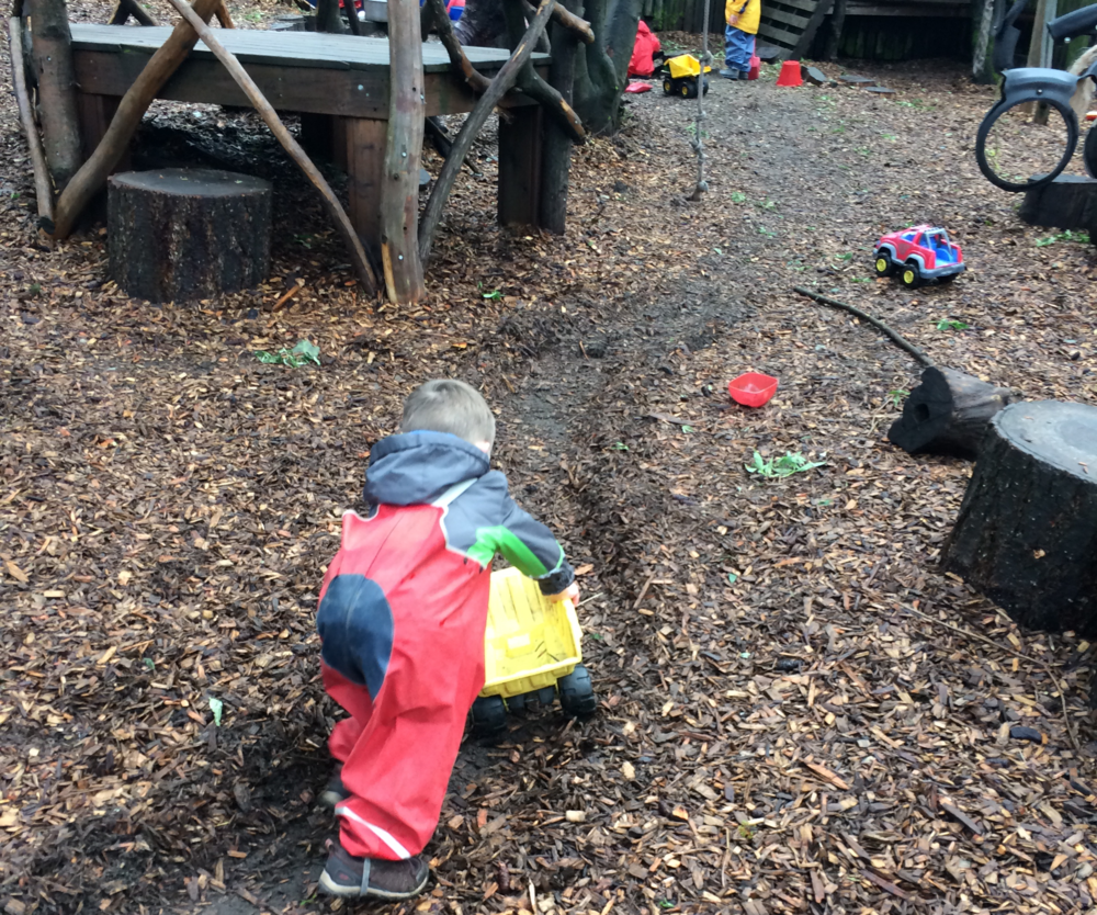 Songbirds has both an indoor area for free play and arts and crafts, as well as an attached play yard where children are encouraged to independently explore the outdoors in a safe and comfortable environment.