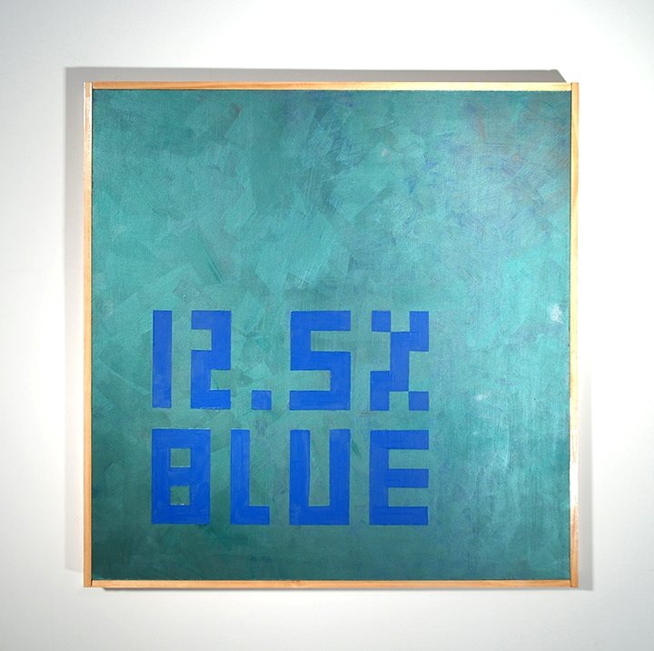 12.5 % Blue