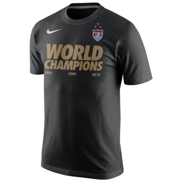 USA Woman's 2015 World Cup Champions - Men's T-shirts