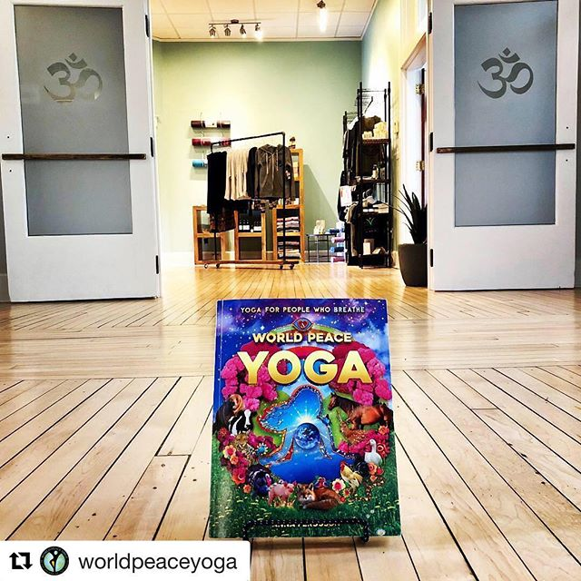 #Repost @worldpeaceyoga with @get_repost ・・・ You are now able to get your copy of World Peace Yoga: Yoga for People Who Breathe @innerspringyoga in New Albany. Stop in for a class and book. 🌍☮️🧘‍♀️📖 . . . #worldpeaceyogabook #yogaforpeoplewhobreathe #innerspringyoga #yogalove #yogabook