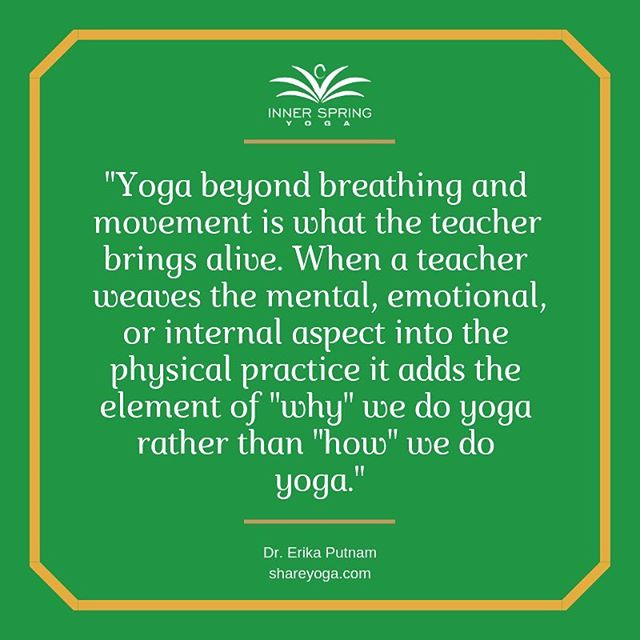We are so GRATEFUL for our amazing teachers at Inner Spring Yoga! Thank you for bringing the practice of yoga alive for our community 🙏🏼