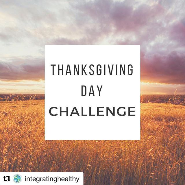 #Repost from our friend Laura with @integratinghealthy ・・・ Take out some paper.  Number it for each year you have been alive. Then write something you're thankful for next to each number. If this is really easy....go for 100.  We should practice gratitude everyday so let this begin a new practice for you. #gratitude #gratitudechallenge #practiceeveryday #iinhealthcoach