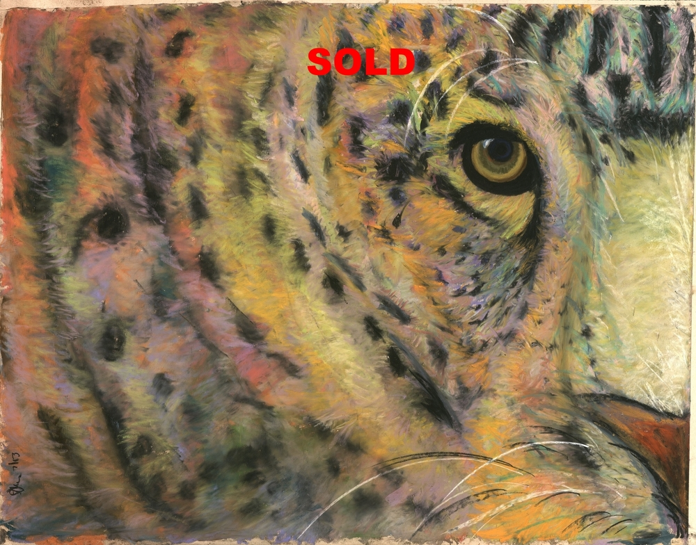 Leopard's Eye, SOLD