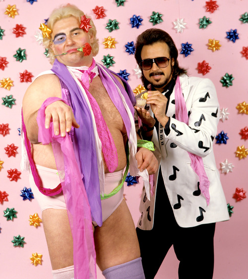 Does Adrian Adonis have a workout video? Was this man even a Adonis?