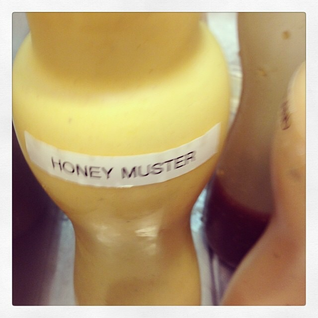 As much honey as you can muster!