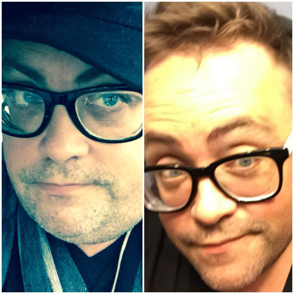 Man it's crazy when I do the before and after...I like to do to remind me. Left is Christmas Eve 2014 and right is about a week ago 😀