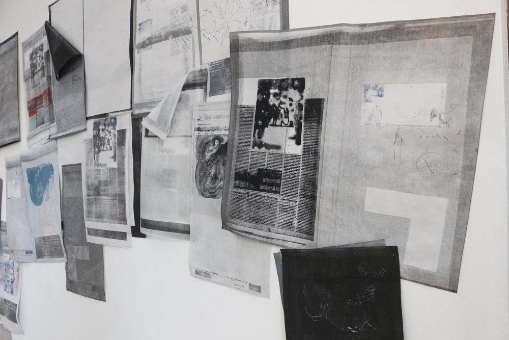 El Pronóstico (Installation View)