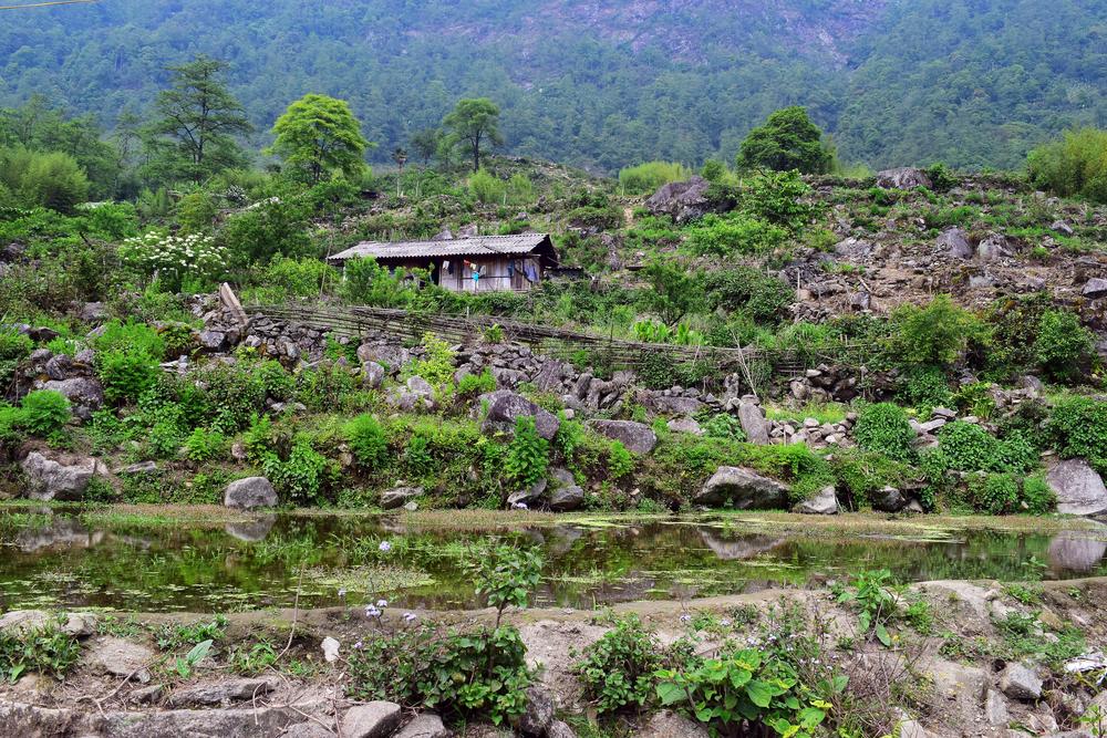 H'mong Village, Sapa, Vietnam 2015