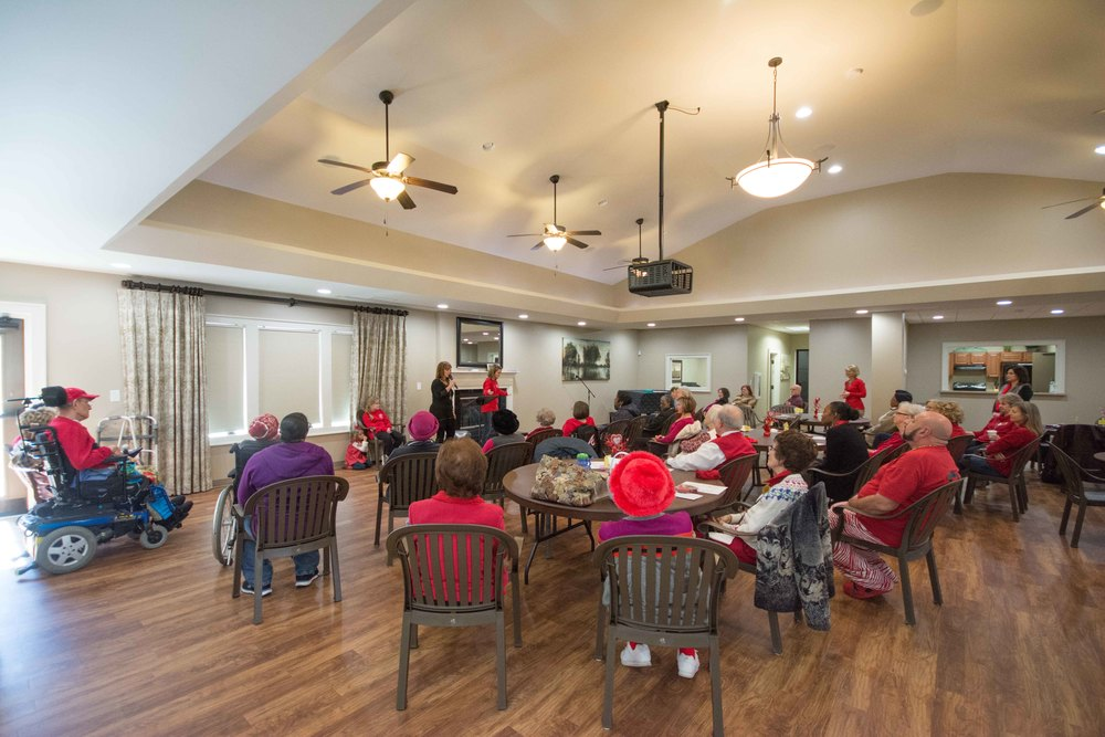 The DayBreak Program for Seniors meets on Tuesdays at Byron & Jim's Place.   click to enlarge