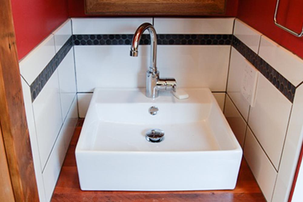 Bathroom Construction bath — 4 hammers