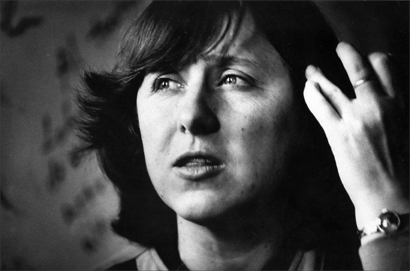 Svetlana Alexievich, courtesy of the author's website