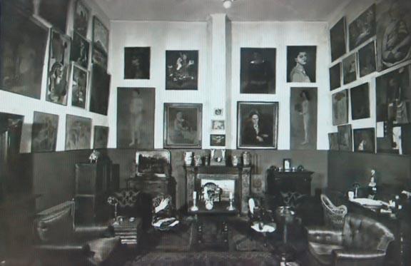 Stein's apartment, 27 rue de Fleurs