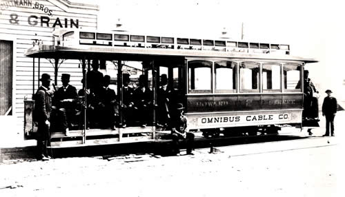 Omnibus Railroad and Cable Company streetcar