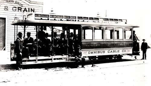 Omnibus Railroad and Cable Company streetcar