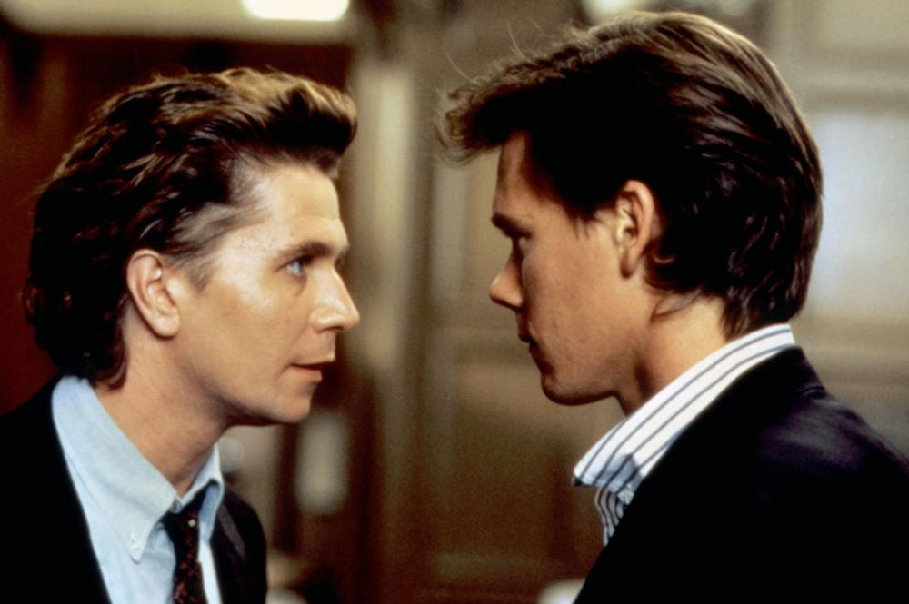 Gary Oldman and Kevin Bacon in Criminal Law