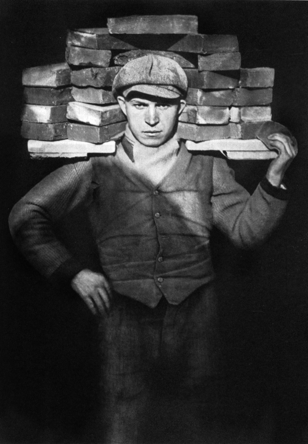 August Sander: Bricklayer, 1928