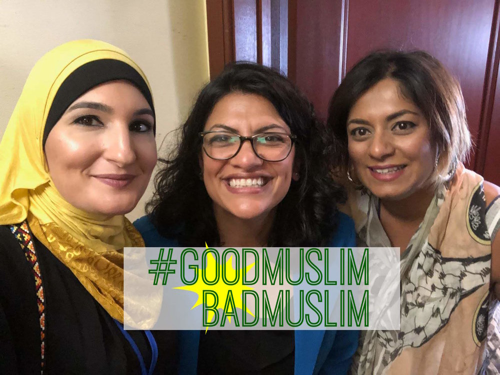 Linda Sarsour, Congresswoman Rashida Tlaib and Taz Ahmed at She The People summit.