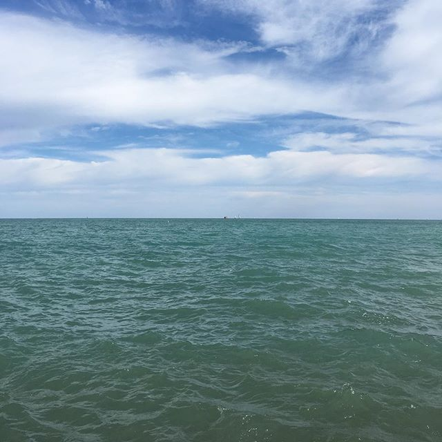 Lake Michigan #nofilter #chicago #stylishonvaca