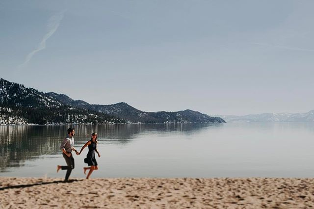 Keeping it playful in beautiful Lake Tahoe.