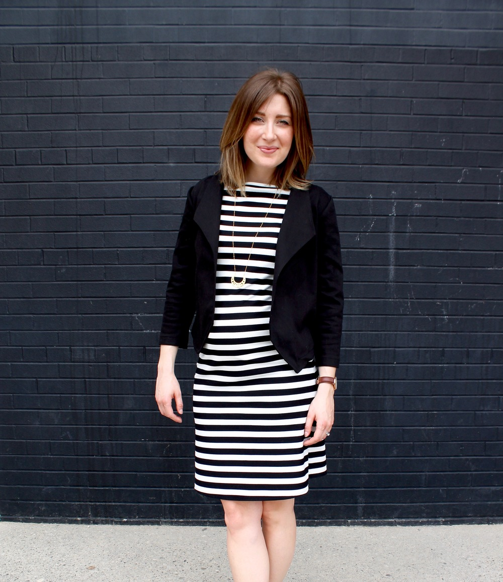 Mesa Dress and Morris Blazer